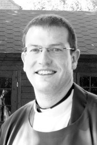Fr Andy Richardson (B/W image)