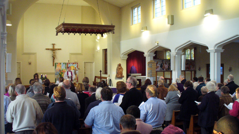 Ecumenical Carol Concert at Our Lady of Peace, 2014